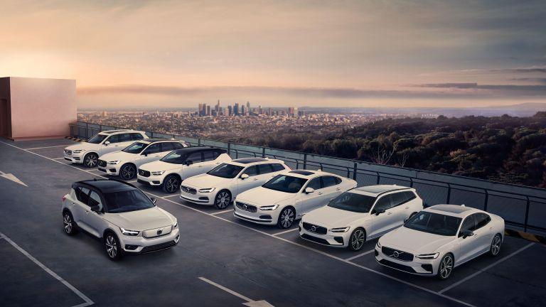 Všechny modely Volvo Recharged