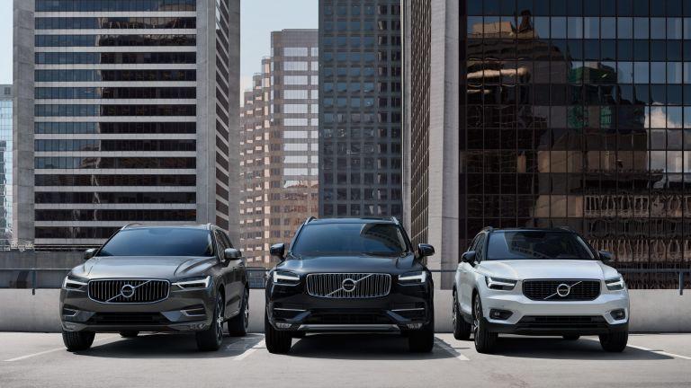 Nové vozy Volvo